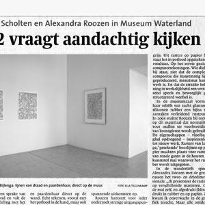 Palimpsest vraagt aandachtig kijken, recensie Museum Waterland