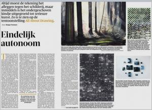 All about Drawing, recensie Stedlijk Museum Schiedam
