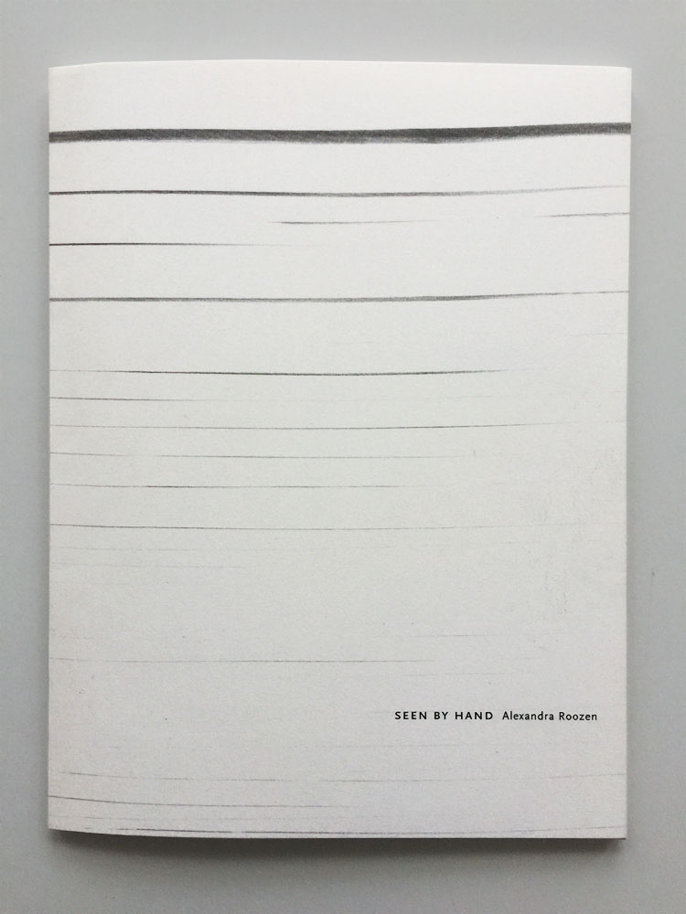 Seen by hand publication
